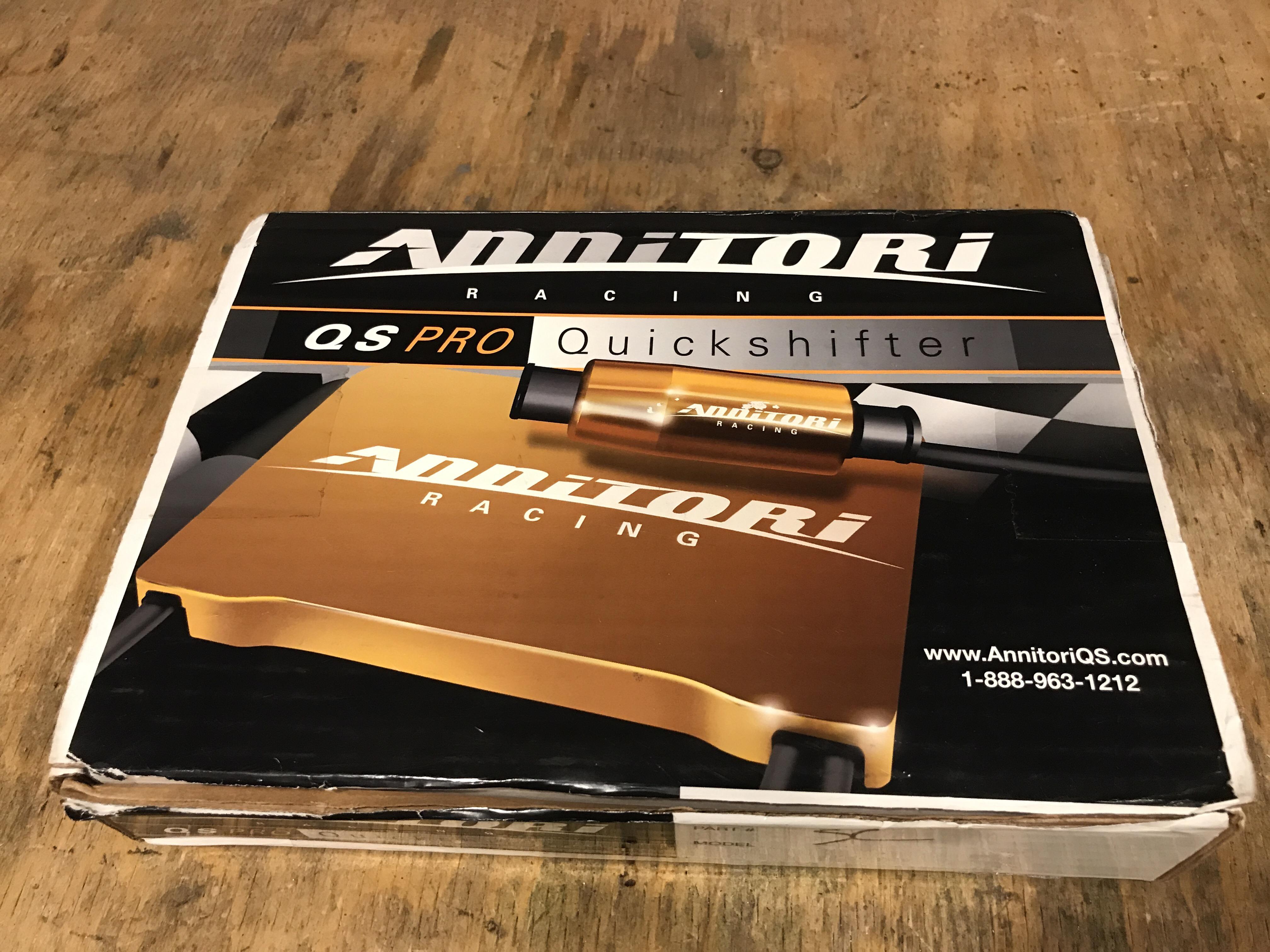 annitori qs pro quickshifter review & installation (2010 ducati